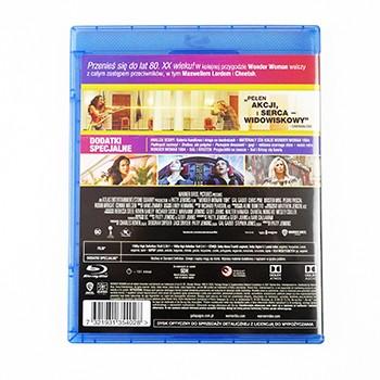 Wonder Woman 1984 okładka Blu-ray tył