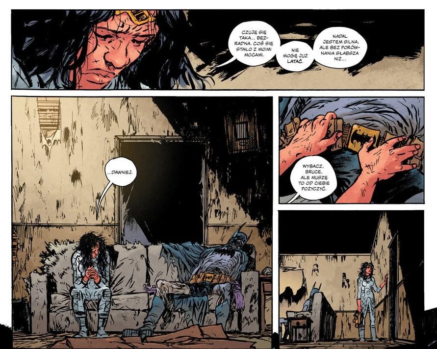 Wonder Woman Martwa Ziemia plansza