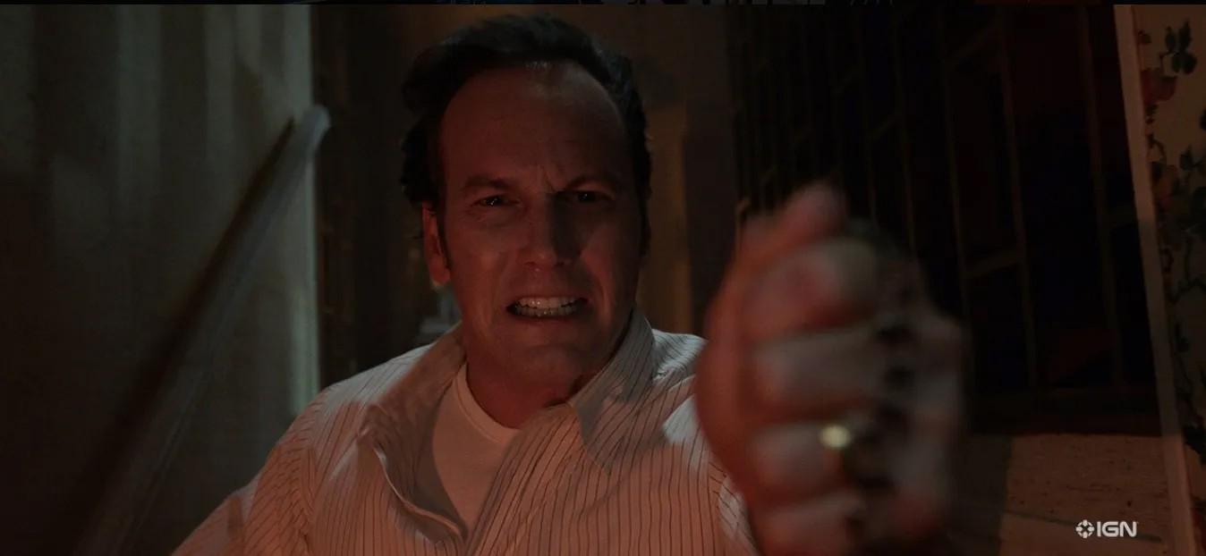 """Patrick Wilson jako Ed Warren w filmie """"Obecność 3: Na rozkaz diabła"""""""